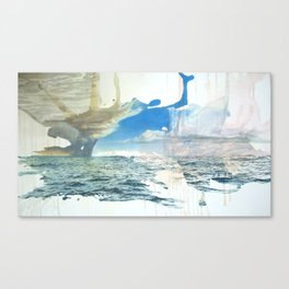 Days on the Pacific Canvas Print