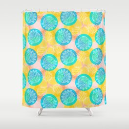 Awesome Balls Shower Curtain