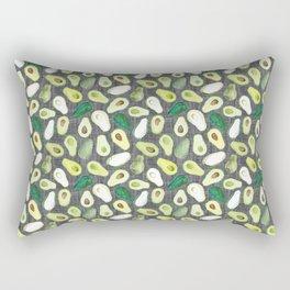 Avocados - Ash Grey Rectangular Pillow