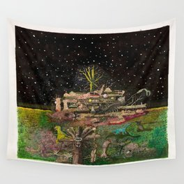 A Place In Space Wall Tapestry