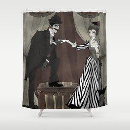 H. H. Holmes Shower Curtain