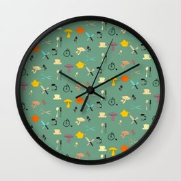 Kitschy Kitchen Wall Clock
