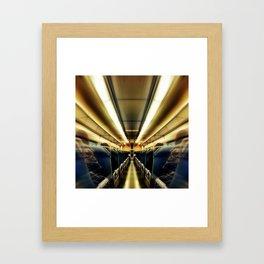 TransAtlantic Crossings of a Mysterious Traveler Framed Art Print