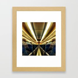 TransAtlantic Crossings of a Mysterious Traveler Framed Art Print
