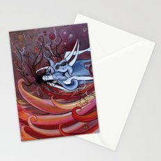 Rider to the Storm Stationery Cards