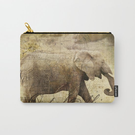 Out of Africa Carry-All Pouch