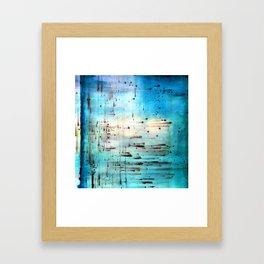 Blowing Dots (2) Framed Art Print