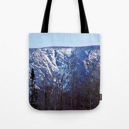 Mountain Crevasses Tote Bag