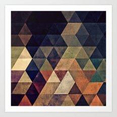 fyssyt pyllyr Art Print