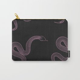 Tell Me - Snake Illustration Carry-All Pouch