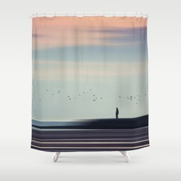 Drifting By Shower Curtain