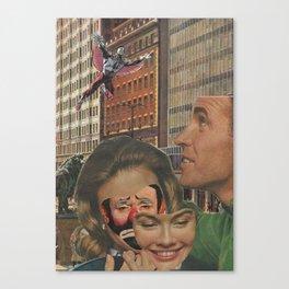 Clown Lady Canvas Print