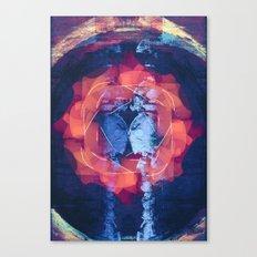 filaments + linoleum Canvas Print