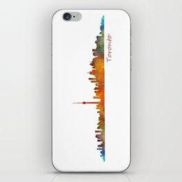 Toronto Canada City Skyline Hq v01 iPhone Skin