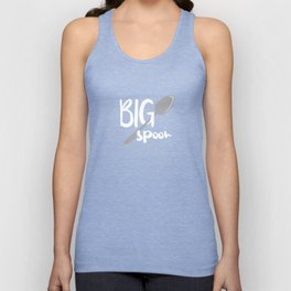 Big Spoon Unisex Tank Top