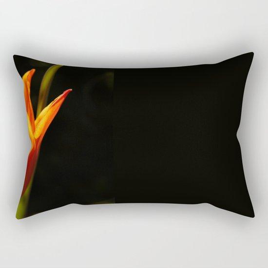 tulip, flower, warm light Rectangular Pillow
