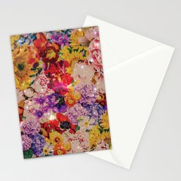 Warm bright interstellar blooms Stationery Cards