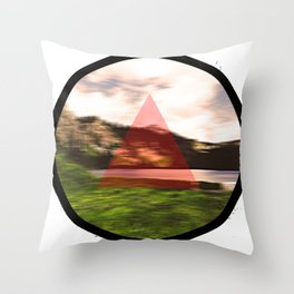Motion Forest Throw Pillow