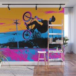 BMX Back-Flip Wall Mural