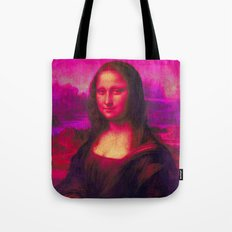 Mona Lisa's Haze (pink) Tote Bag