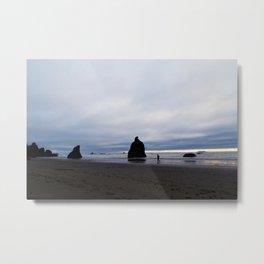 Ocean by Dusk Metal Print
