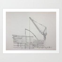 Chicago - Construction Art Print