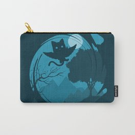 Flying Cat Carry-All Pouch
