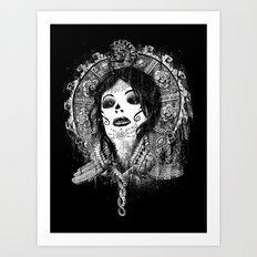 Ancient Queen Art Print