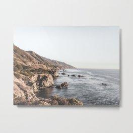 Big Sur | Monterey California Surfers Paradise Ocean Beach Landscape Wanderlust Photograph Metal Print