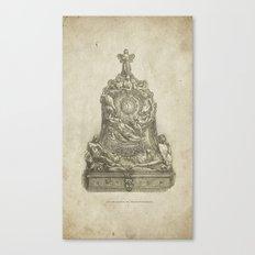 CLOCK-CASE Canvas Print