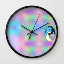 Lapras Wall Clock