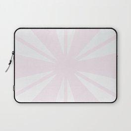 Pink and Light Grey Bam Laptop Sleeve