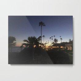 Laguna Beach Cali Metal Print