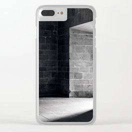 Scary view of hollow Clear iPhone Case