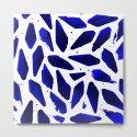 Cobalt Blue Ink Blots by cassianebel