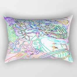 spec vertebraeyes Rectangular Pillow