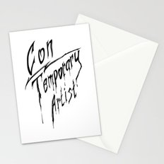Con|Temporary Artist Stationery Cards