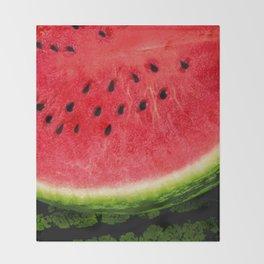 Watermelon Throw Blanket