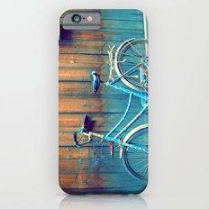 A Polka Dotted Bike iPhone 6s Slim Case