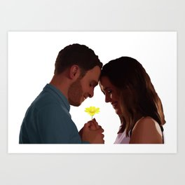 Will You Be My Boyfriend? Art Print
