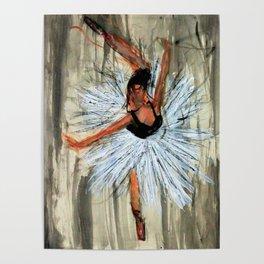 Ballerina in Motion I Poster