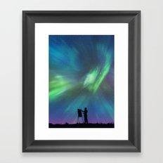 Borealis Painter Framed Art Print