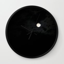 Moonlight dance  Wall Clock