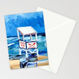 Ocean City Lifeguard Stand Stationery Cards
