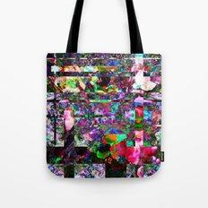Vertical Floral Tote Bag