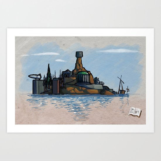 Use Verb on Noun #9: Myst Art Print