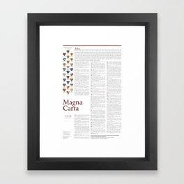Magna Carta Framed Art Print