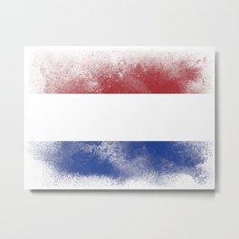 Holland flag isolated Metal Print