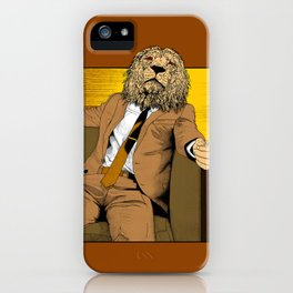 Pride of Lion iPhone Case