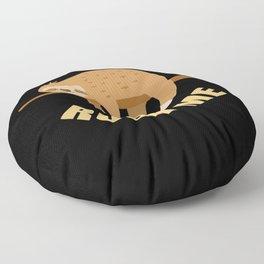 Don't Rush Me Chilling Sloth Floor Pillow